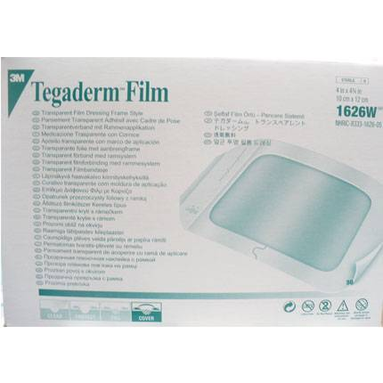 3M Tegaderm Film 1626W Pansuman Örtüsü 10cm x 12cm