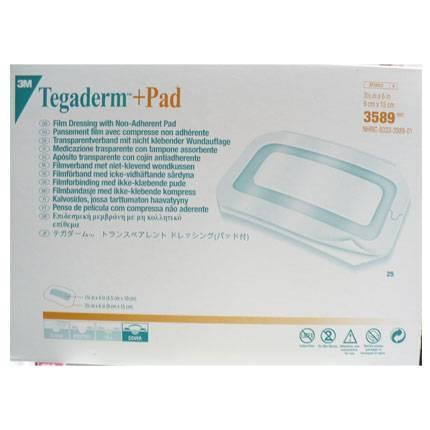 3M Tegaderm+Pad Pansuman Örtüsü 9cm x 15cm 3589