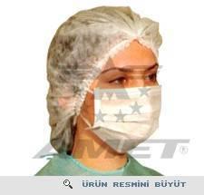 Amet Cerrahi Bone, Ultrasonik Dikişli - Beyaz 4010 - 250 lik