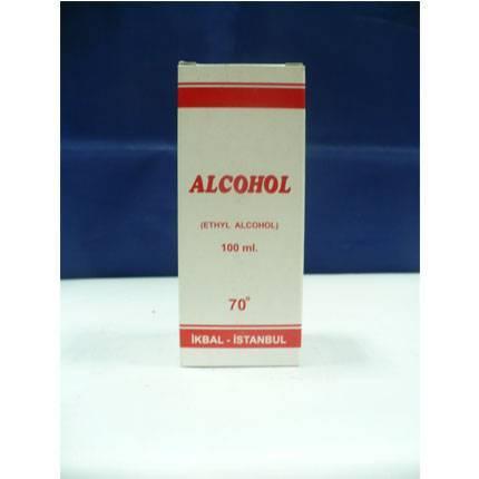 ETİL ALKOL 100 ml