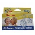 MURRAY Diş Protezi Temizleme Tableti 4'lü Ekonomik Paket