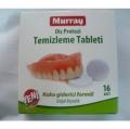 MURRAY Diş Protezi Temizleme Tableti 16 Adet