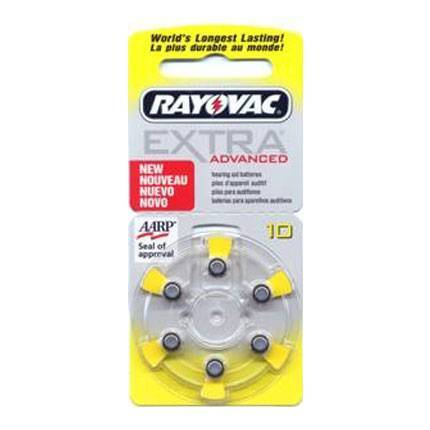 Rayovac Extra Advanced 10 İşitme Cihazı Pilleri