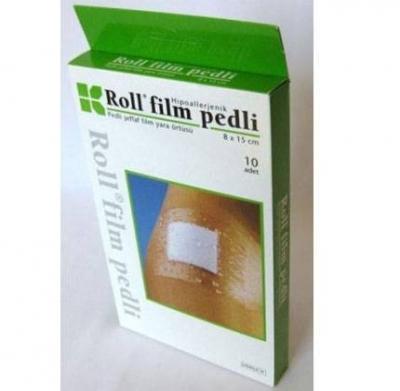 Roll Film Pedli Şeffaf Yara Örtüsü 8 x 15 cm