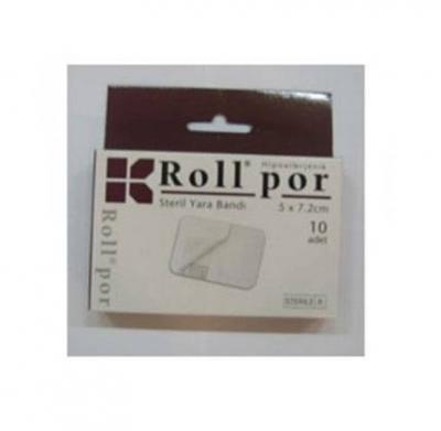 Roll Por Steril Yara Bandı 5 x 7.2 cm