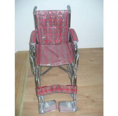 LAB-VET FS802-35 Çocuk Tekerlekli Sandalye-Kırmızı